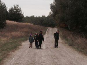 dzieci w drodze