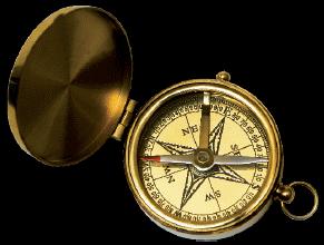 upominek dla Twoich bliskich - z kompasem odnajdą właściwe ścieżki rozwoju zawodowego